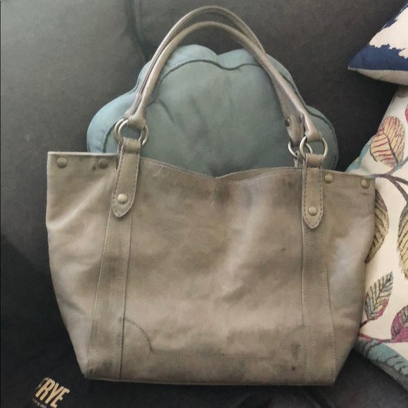 NWT Frye Leather Melissa Shoulder Bag Lilac